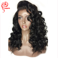 Hesperis 150 Lace Front Human Hair Wigs 100 Brazilian Hair Lace Wigs Pre Plucked Glueless Deep