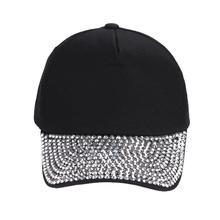 Baseball Caps for Women Fashion Snapback hats Rhinestone Hip Hop cap Summer Amazing