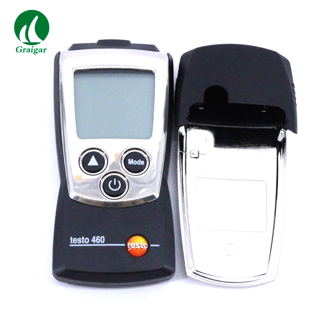 Allemagne Testo 460 Tachymètre numérique Optique Compacte compteur RPM