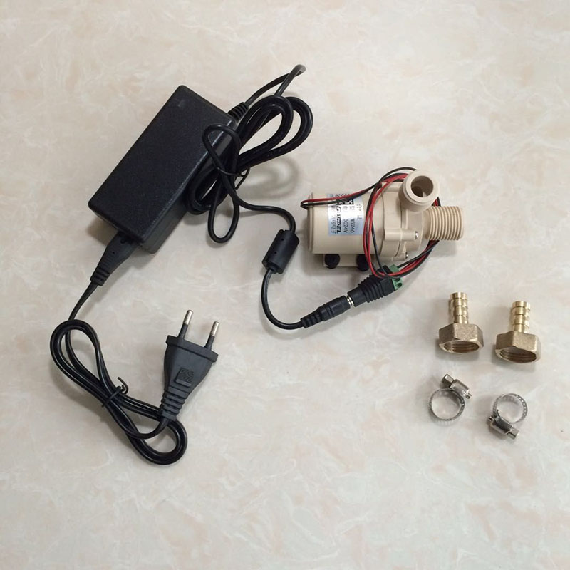 Beer brewing 24V DC Ceramic Core Food Grade Beer Pump Muted Resistant High Temperature Multiuse Water