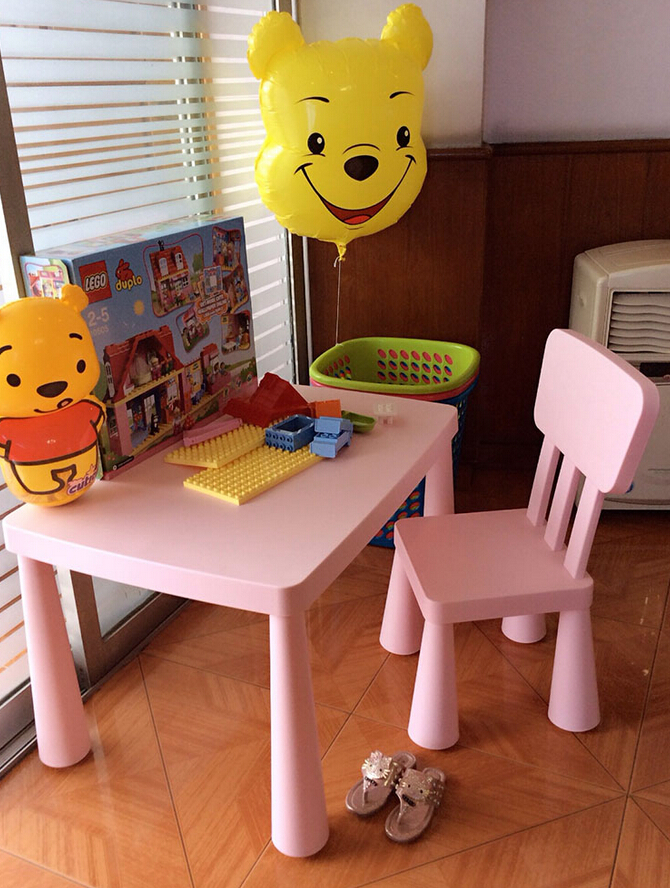 ФОТО Children's Table And Chairs Baby  Plastic Tables Desk Desk Study Table Free Purchasing Fee