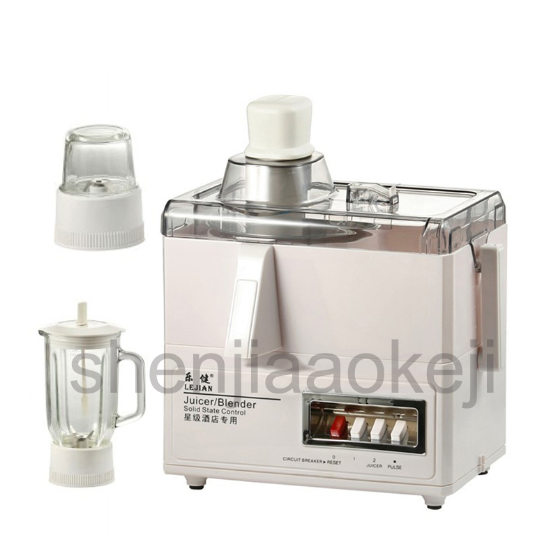 Juicer blender 3 in 1 Juicer mixer food processor juice machine dry mill powder mill grinder 220v(50Hz)/450w 1PC wavelets processor