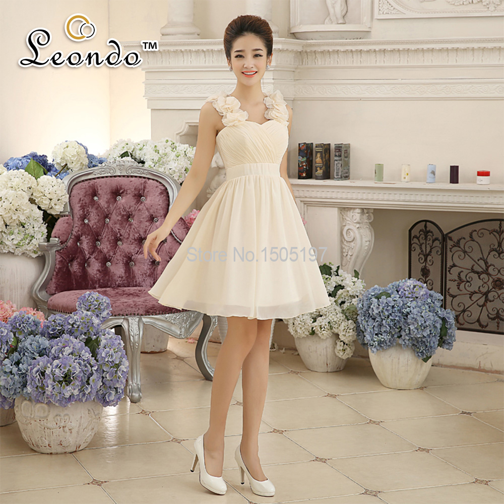 aliexpresscom buy llf ws8025 elegant cap sleeve designer one piece party dresses a line short wedding guest dresses cheap bridesmaid dresses from