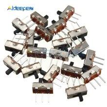 цена на 50Pcs SS12D00G3 2 Position SPDT 1P2T 3 Pin PCB Panel Mini Vertical Slide Switch Toggle Switches