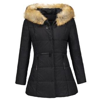 05b59259c33 2018 nuevo Parkas mujer abrigo de invierno engrosamiento de algodón chaqueta  de invierno abrigo mujer Parkas para mujer de invierno