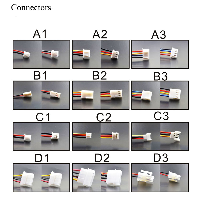 50 mm ventilador de PC enfriador 4 pines placa base Conector PC de - Componentes informáticos - foto 6