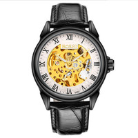 luxury men's gold watch female high quality watch male quartz double day male weekly table display of wrist watch lover watch.