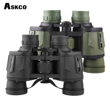 askco high times 8x40 HD waterproof portable binoculars telescope with bak4 prism fully multi coated for outdoor sports eyepiece high times canon 30x40 hd waterproof portable binoculars telescope hunting telescope tourism optical outdoor sports eyepiece