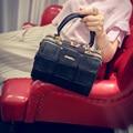 Pequeno mini Patchwork Boston saco saco de mão das senhoras bolsa das mulheres saco 2016 sacos de mulher bolsa de luxo mulheres designer de marca famosa saco