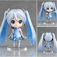 Miku Action Figures,10CM Figure Collectible Toys, Beautiful Cute Action Figure Collectible Brinquedos Kids Model Toys Gift