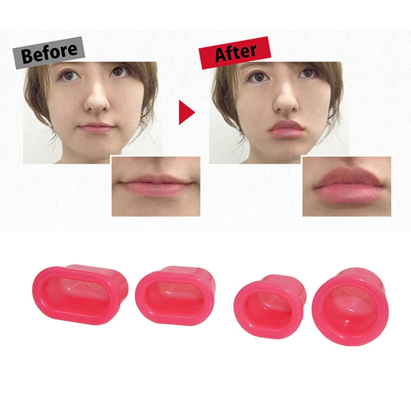 Professional Silicone Sexy Fuller Lips Plumper Pink Lips Suction Enhancer Device Round Increase Lips Women Fahion Beauty Tools