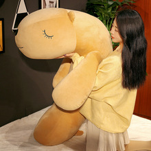 Stuffed Animal Funny Soft Dog Plush Toy Sofa Cushion Bed Pillow Climbing Mat Toys For Children Home Deco