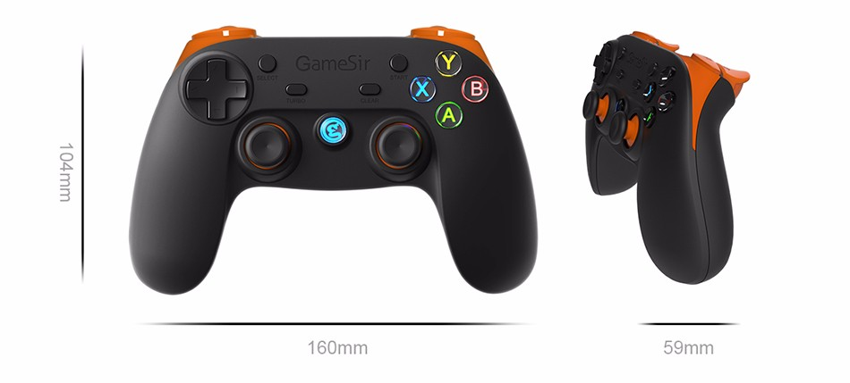 GameSir G3s Gamepad for PS3 Controller Bluetooth&2.4GHz snes nes N64 Joystick PC for Samsung Gear VR Box for SONY Playstation 2 17