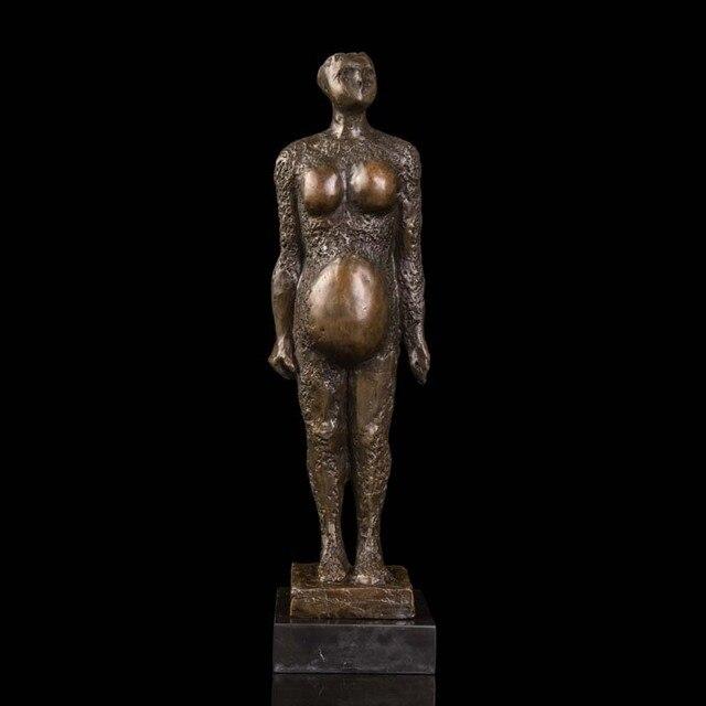 spesso ATLIE BRONZI sculture in Bronzo Contemporaneo Astratto donna  YB95