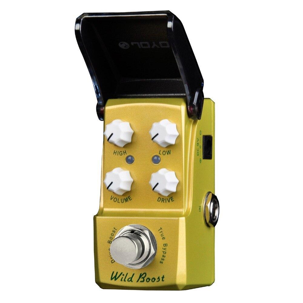 ФОТО Joyo Ironman Wild Boost Drive Boost Electric Guitar Effect Pedal True Bypass JF-302 JF302