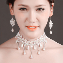 Fashion Imitation pearl necklace