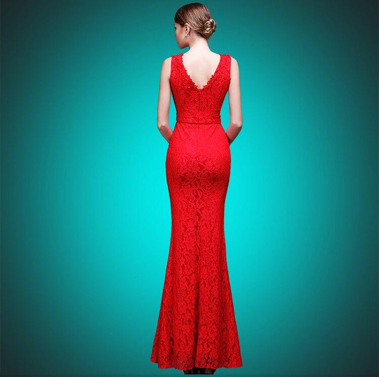 Fishtail Ankle Length Dresses