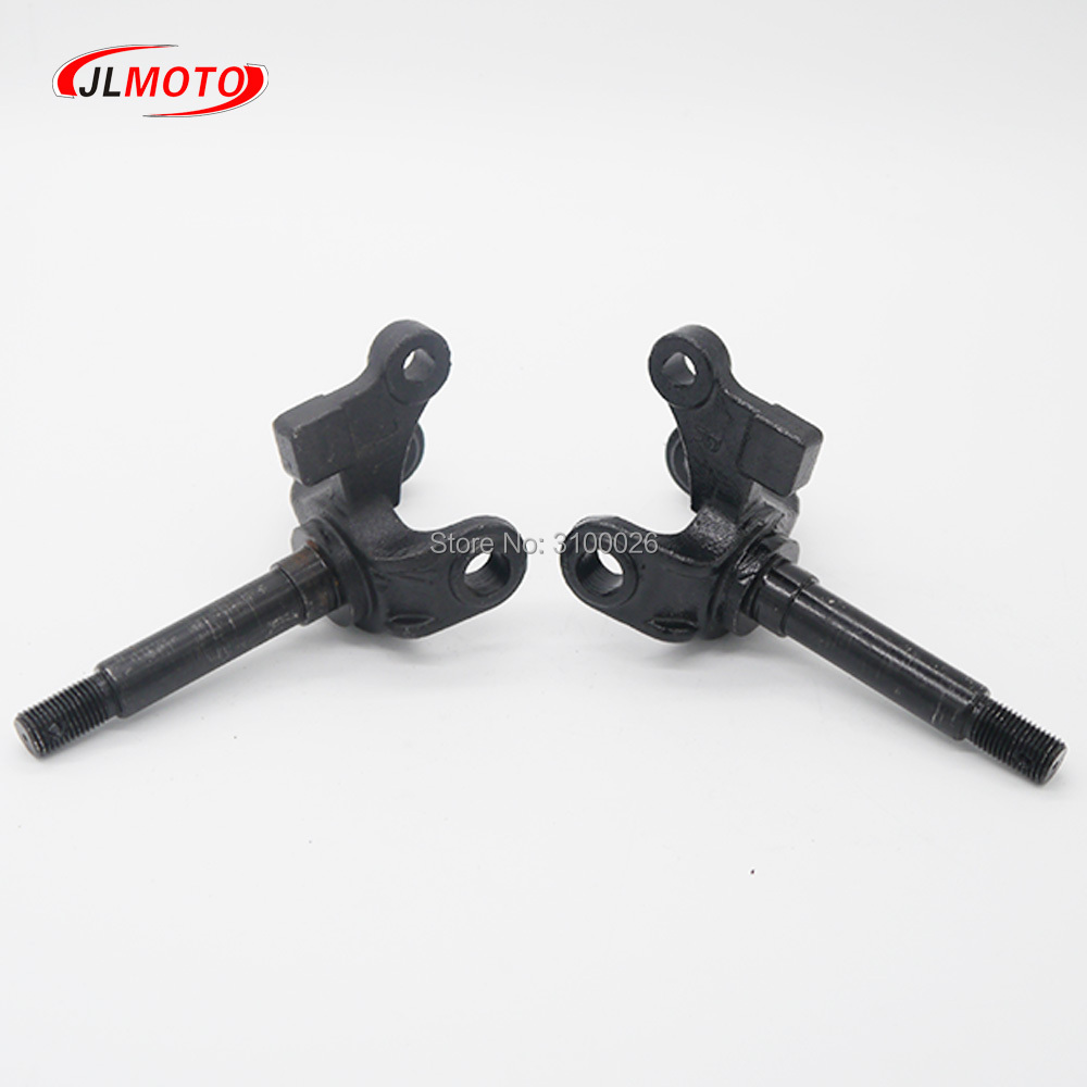 1pair/2pcs Steering Strut Knuckle Spindle Fit For Drum Brake Hub Of Atv 110cc 125cc 200cc 150cc Go Kart Buggy Utv Bike Parts Back To Search Resultsautomobiles & Motorcycles Atv,rv,boat & Other Vehicle
