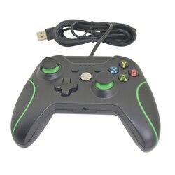 10 sztuk nowy przybywający przewodowy sterownik do gier USB pad do grania na Xbox One