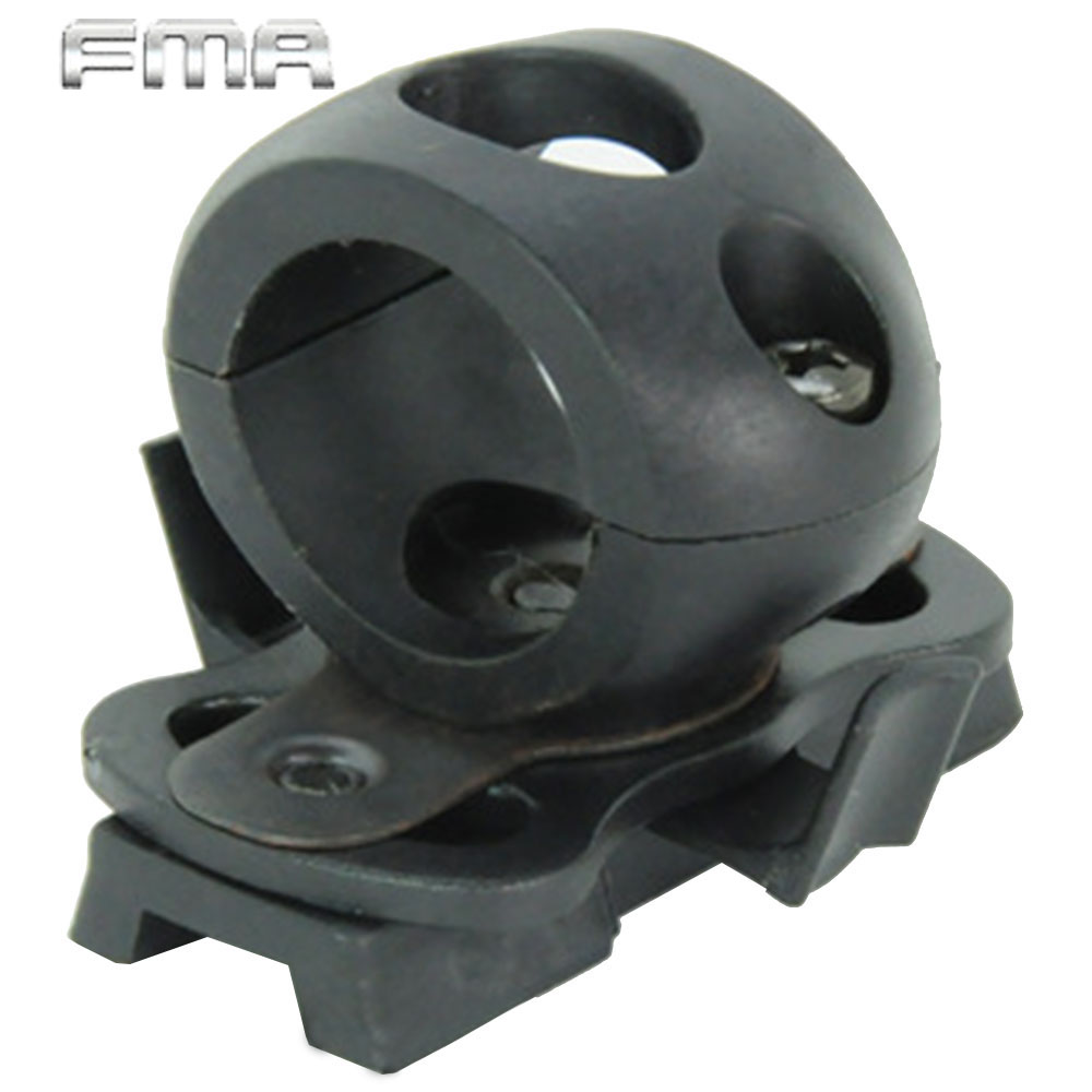 ᐅAirsoft Tactical 21mm Helmet Clamp Adaptor For Fast Helmet ...