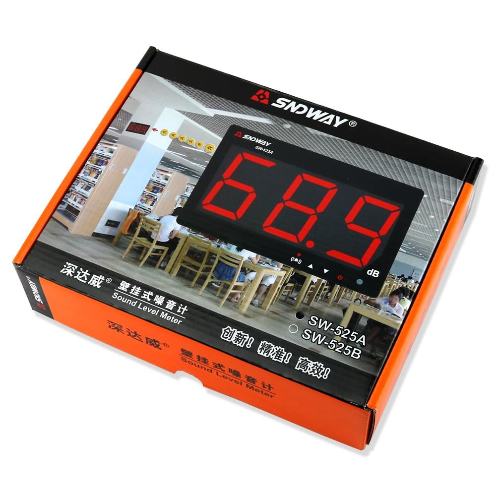 Fonometro digitale 30 ~ 130db display a grande schermo Bar ristorante - Strumenti di misura - Fotografia 6