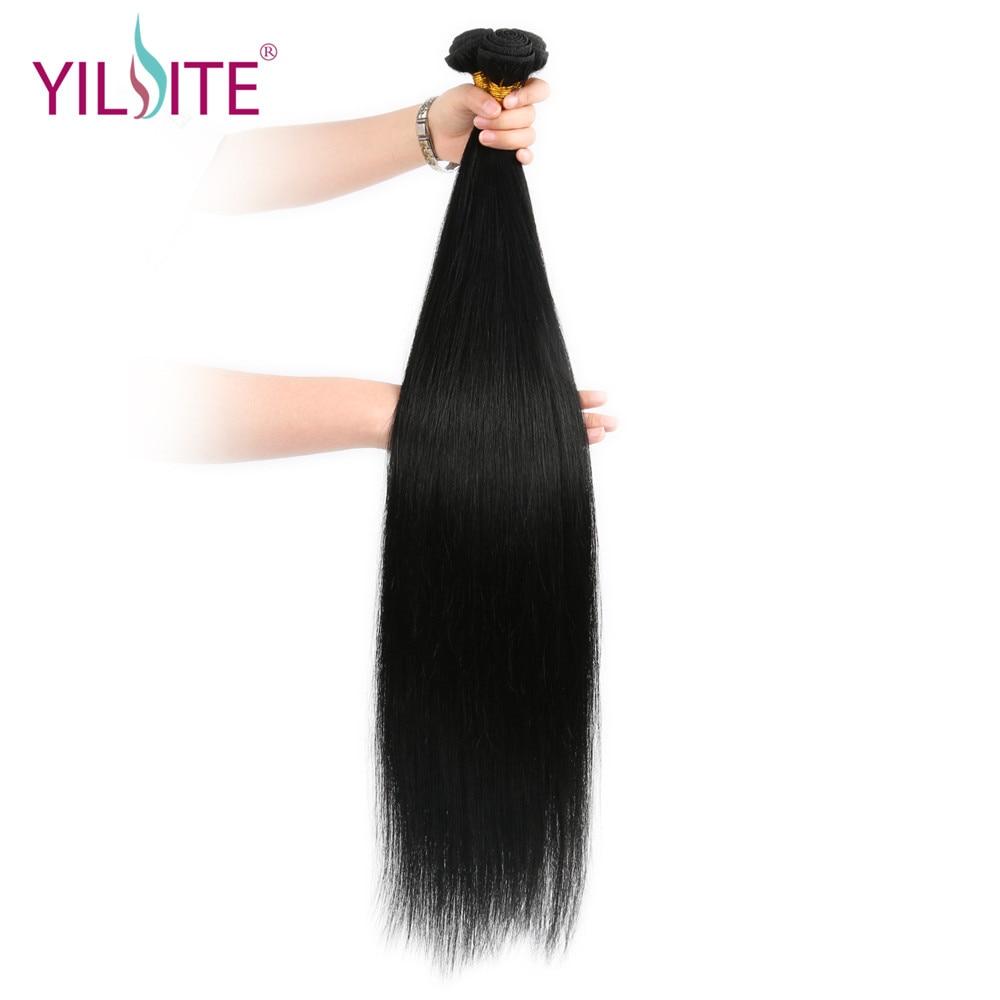 30 Zoll Brasilianische Gerade Haarwebart 100g/stück Menschliches Haar Bundles Phantasie Farbe Remy Haar Kostenloser Versand