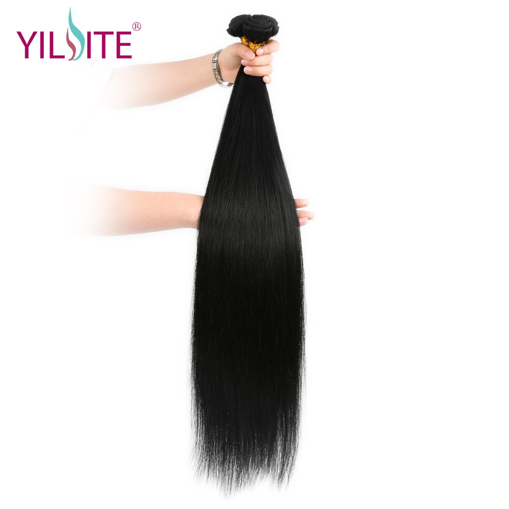 30inch Brazilian Straight Hair Weave 100g/Piece Human Hair Bundles Fancy Color Remy Hair Free Shipping