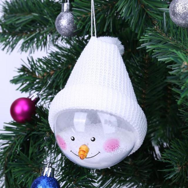 Снеговик мяч украшения Рождественские детские подарки игрушка Рождественская елка украшение шар орнамент новогодние подарки украшение для дома