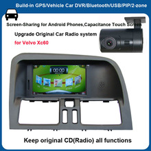 6.2 inch Capacitance Touch Screen car DVD GPS for VOLVO XC60+Screen-Sharing for Android Phones (NO DISC)