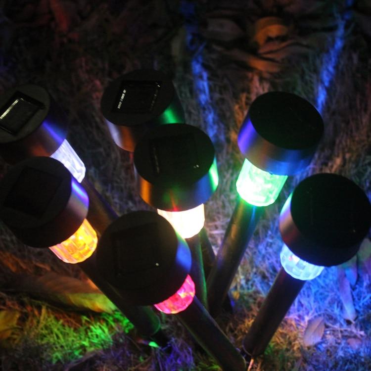 Солнечный свет Наружное Освещение Современный Пластик ip44 аварийного Мощный светодиодный сада для украшения лампе solaire лампада