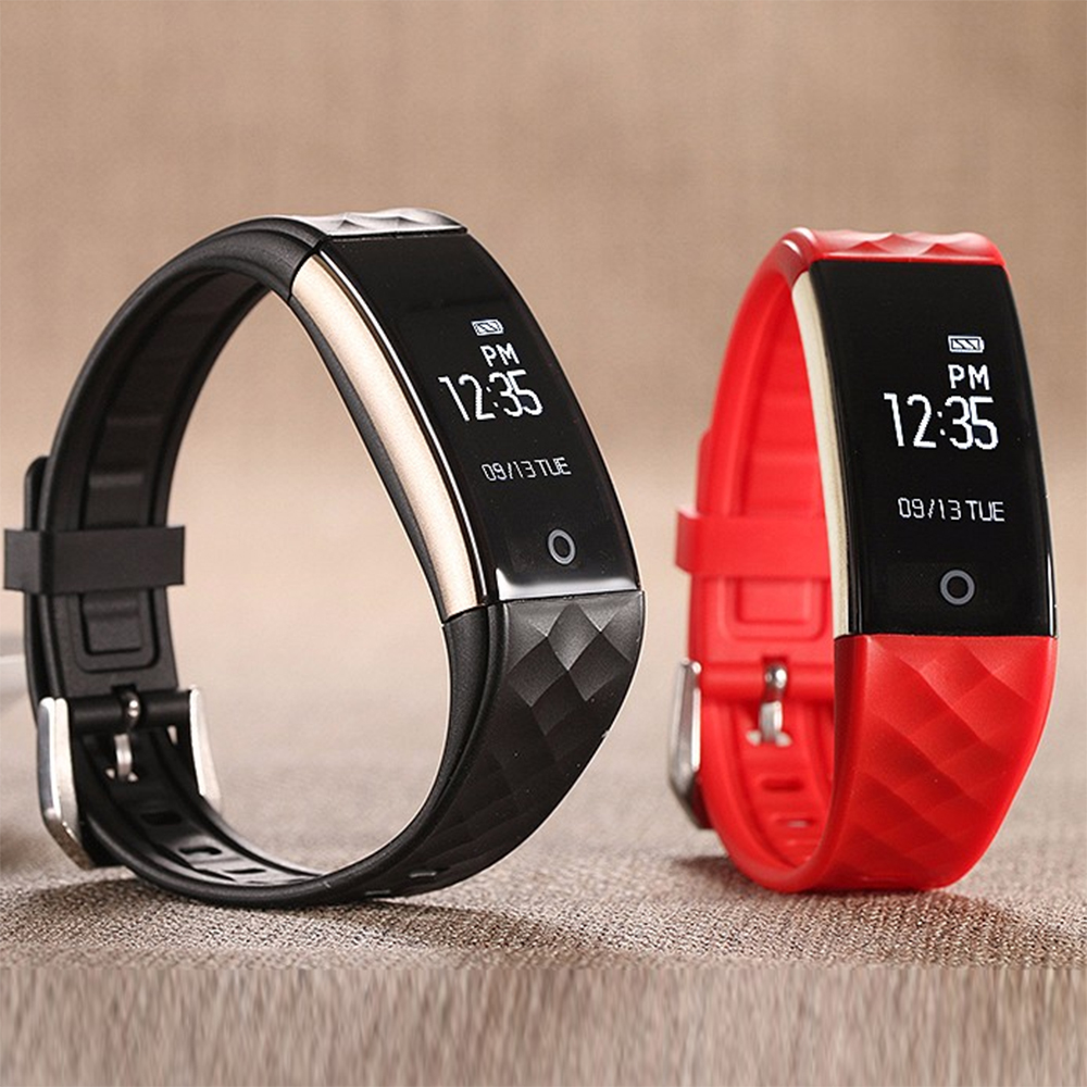 Sports Watch LED Blood Pressure Oxygen Smart Wristband Silicone Acrylic Bluetooth Watch For Android iOS Sleep Monitor Clock home care laser light therapy instrument wrist watch type reduce high blood pressure