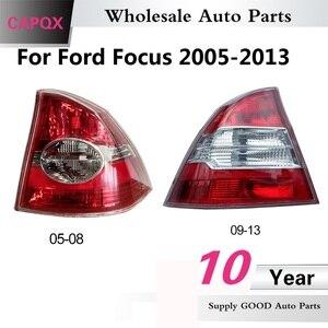 Image 1 - CAPQX Bremse Hinten Schwanz Licht Für Ford Focus 2005 2008 2009 2013 rücklicht rücklicht bremslicht stop licht