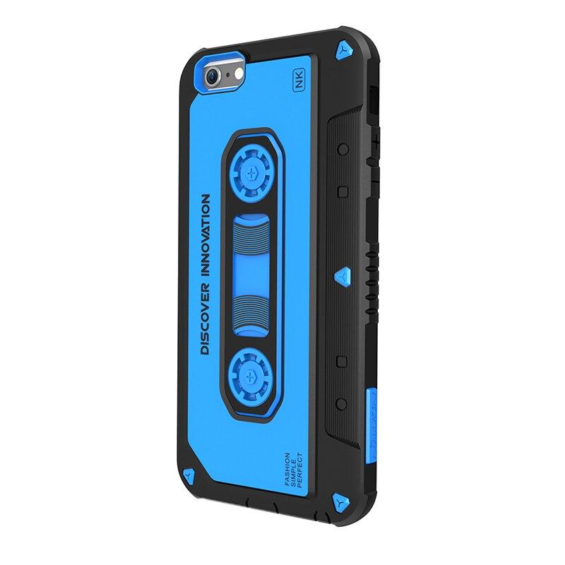 עבור apple iphone 6 6 s case המקורי nillkin מקרא המוזיקה קשה מקרי iphone 6 plus טלפון חזרה נרתיקים היברידי slim 4.7 ''5.5''
