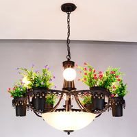 Pendant Lights Black Pendant Lamps Kitchen Lightings Modern Suspension Hanglamp lamparas abajur Plant Lights Living Room D382