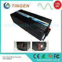 Инверторы постоянного тока 12 В к AC 220 В 6000 Вт 6kw tep 6000w чистая синусоида 60 Гц 50 Гц Бесплатная доставка