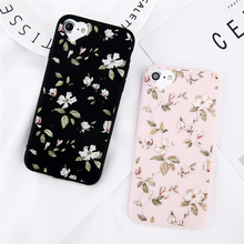 Fashion Cartoon Beautiful Flower Soft TPU Case