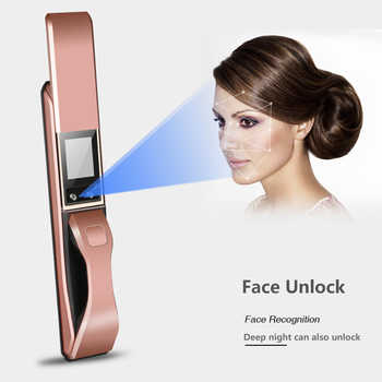 High Grade Face Recognition Intelligent Lock Apartment Home Anti-theft Security Door Electronic Password Smart Lock - DISCOUNT ITEM  24% OFF All Category