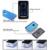 USB Recargable portátil Mini Ventilador de Mano Del Ventilador Enfriador de Aire Acondicionado Ventilador sin aspas Leque Verano Purificador de Aire