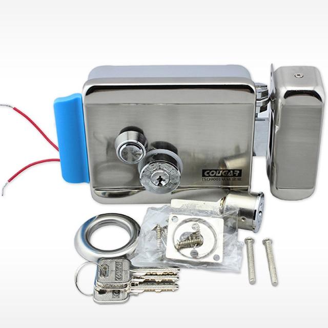FREE SHIPPING Brand New Video Intercom Electronic Door Lock For Access Control System Door Phone Doorbell