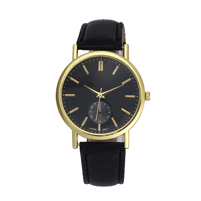 2016 New Women Dress Watch Bracelet Geneva Leather Band Analog Quartz Vogue Wristwatch Casual Watch Relogio