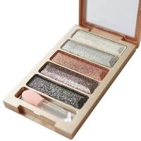5 Colors Eye Shadow Bright EyeShadows Cosmetic Make up Pressed Glitters Diamond Eyeshadows Waterproof Shimmer Eye Shadow Make Up