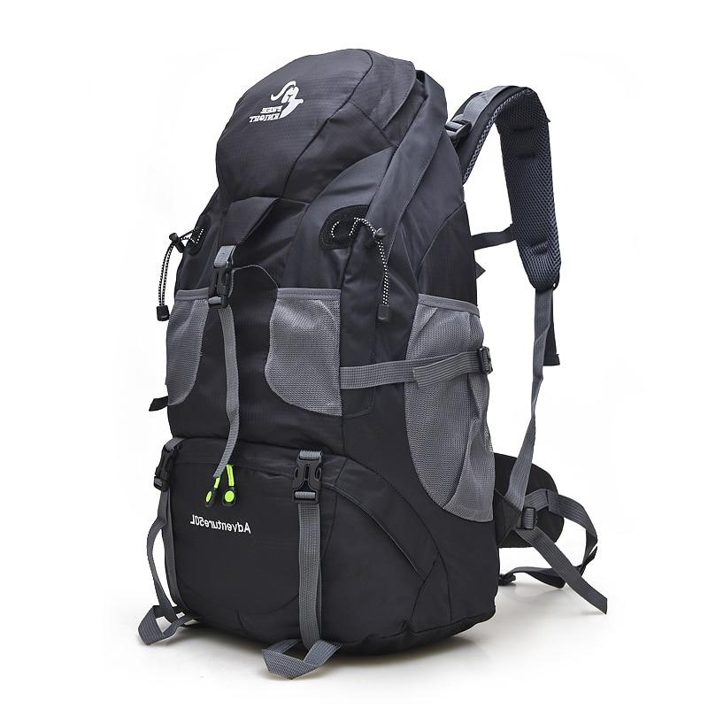 Free Knight 50L Waterproof Hiking Backpack Trekking Travel Backpack For Men Women Sport Bag Outdoor Climbing Bag 5 Colors huwaijianfeng 50l outdoor sport traveling climbing backpack multifunctional hiking bag