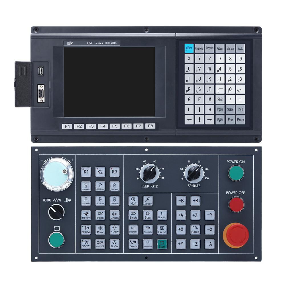 New panel THREE Axis CNC Controller for milling&router machine with ATC PLC  motion control panel ENCODER cnc controller axis cnc controllercnc control  panel - AliExpress