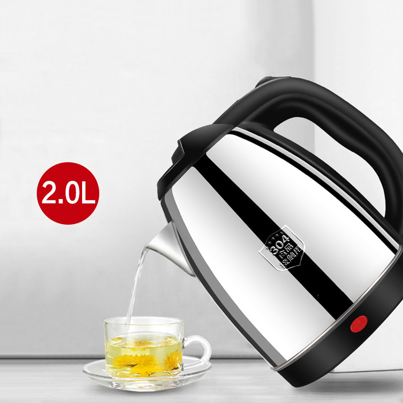 electric kettle used  quick   boiler 304 stainless steel automatic blackouts Anti dry Protection|electric kettle|kettle electric|electric kettle stainless - title=