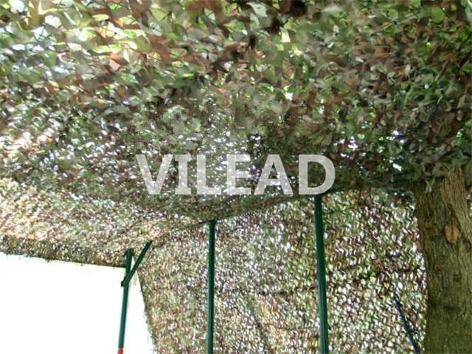 VILEAD 3 m x 10 m (10FT x 33FT) woodland Numérique Militaire Filets de Camouflage Armée Camo Net Soleil Abri pour La Chasse Camping Tente