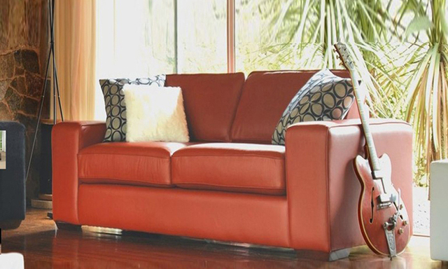 Free Shipping Cheap geniue Leather modern sectional sofa set ...