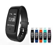 Новинка 2017 года умный Браслет S1 Водонепроницаемый Одежда заплыва IP67 Bluetooth 4.0 GPS здоровья сердечного ритма умный Браслет для Android IOS Телефон