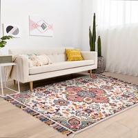100% wool handmade Kilim style gorgeous bedside carpet , living room coffee table carpet, decoration ground mat