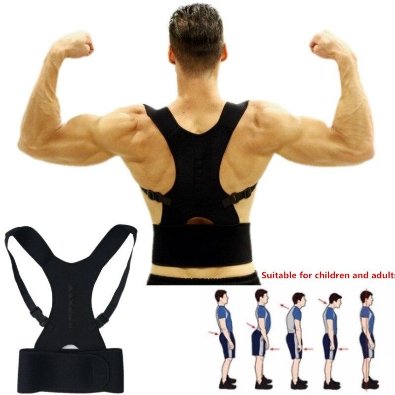 Adjustable Posture Corrector Back Support Belt Shoulder Bandage Corset Back Orthopedic Brace Scoliosis Posture Corrector
