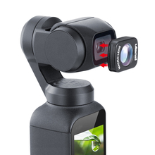 Ulanzi OP-6 Macro Lens Professional HD Magnetic Structure Lens for DJI Osmo Pocket Camera Handheld Gimabl Accessories ulanzi magnetic large wide angle lens for dji osmo pocket osmo pocket accessories op 1 op 2 op 3 op 5 op 7 op 9 op 10